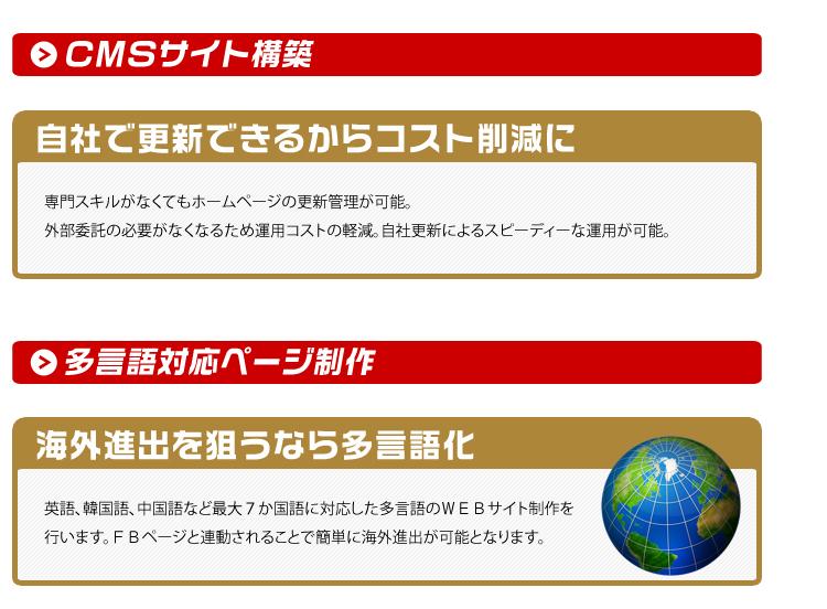 CMSサイト構築